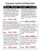 Elements of Fiction: CONFLICT Homework-Quiz-Assessment