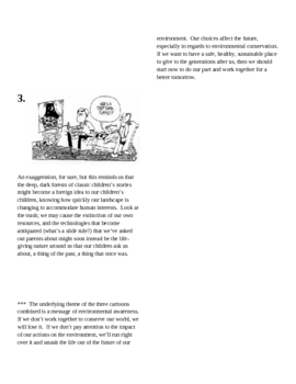 Elements of Fiction: Cartoons to Teach Theme
