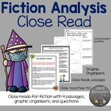 Distance Learning Elements of Fiction Close Read