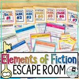 Elements of Fiction Escape Room Activity