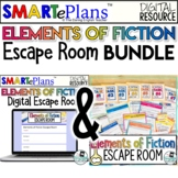 Elements of Fiction Escape Room Activity - Digital and Tra