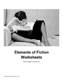 Elements of Fiction Graphic Organizer Worksheets