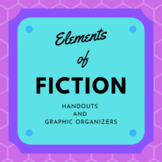 Elements of Fiction Graphic Organizers and Handouts