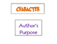 Elements of Fiction Labels for ribbon