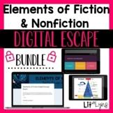 Elements of Fiction & Nonfiction Digital Escape Rooms Bund