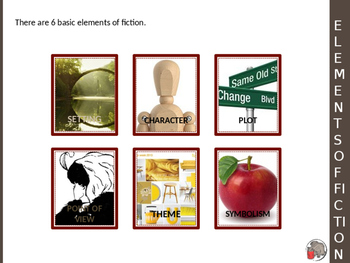 Elements of Fiction Notes Packet