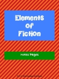 Elements of Fiction: Notes Page