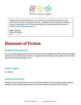 Elements of Fiction - Part 1