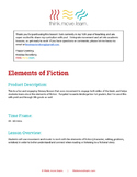 Elements of Fiction - Part 1