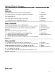 Elements of Fiction Pre-Assessment