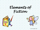 Elements of Fiction Presentation (with Fill-in-the-Blank N