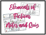 Elements of Fiction and Plot Notes