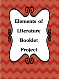 Elements of Literature Booklet Project