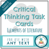 Elements of Literature Critical Thinking Task Cards