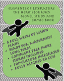 Elements of Literature Hero's Journey Eight Week Unit or Maternity Plans