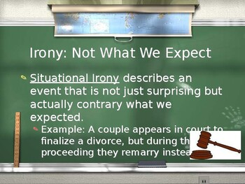Elements of Literature: Irony & Ambiguity PowerPoint