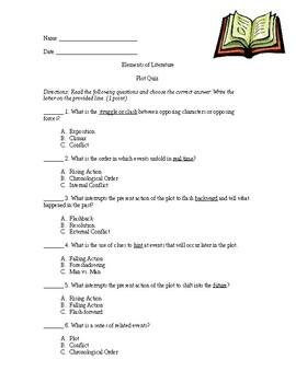 Elements of Literature: Plot Quiz