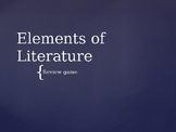 Elements of Literature Review Game