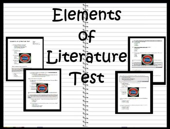 Elements of Literature Test