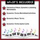 Elements of Music Activities Bundle | Dynamics