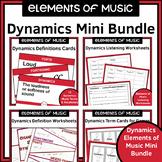 Dynamics Elements of Music Activities Bundle