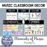 Elements of Music Anchor Charts