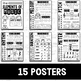 Elements of Music Anchor Charts {Black/White}