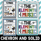 Elements of Music - Anchor Charts - {Color Version}