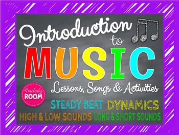 Elements of Music Bundle Set PowerPoint (Beginner)