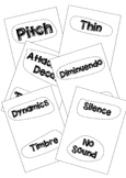 Elements of Music - Human Card Sort