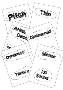 Elements of Music - Human Card Sort