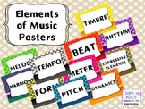Elements of Music Posters