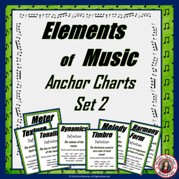 Elements of Music Posters Set 2
