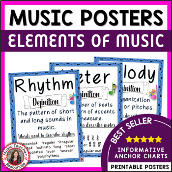 Elements of Music Posters Set 3