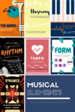 Elements of Music - Printable Posters