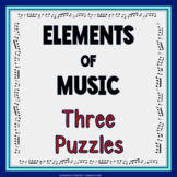Elements of Music Puzzles