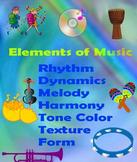 Elements of Music Rainbow
