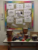 Elements of Music Word Wall- Bulletin Board