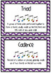 Elements of Music Word Wall - CHEVRON