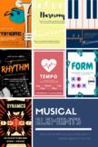 Elements of Music - landscape - with BONUS diction poster!