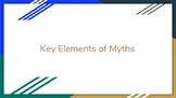 Elements of Myths Notes