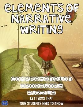 Elements of Narrative Writing Crossword