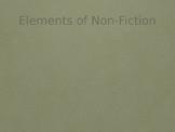 Elements of Nonfiction Notes