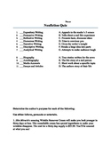 Elements of Nonfiction Quiz