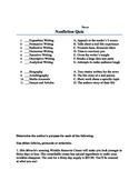 Elements of Nonfiction Quiz