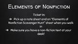 Elements of Nonfiction Unit