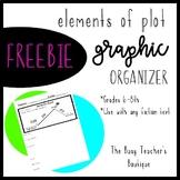 Elements of Plot Graphic Organizer- FREEBIE