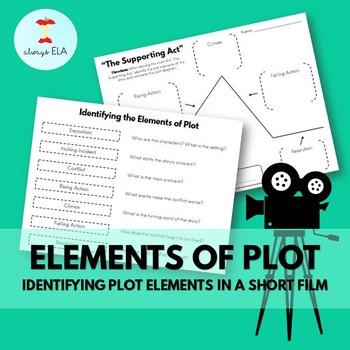 Elements of Plot: Identifying Plot Elements in a Short Film - Activity Worksheet