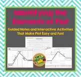 Elements of Plot Interactive Notes and Student Acitivty