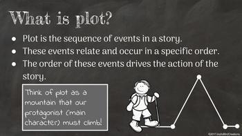 Elements of Plot Notes Presentation